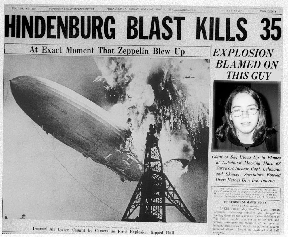 an introduction to the history of the fall of the hindenburg The suddenness of the disaster was shocking at 7:25 pm on may 6, 1937, while the hindenburg was attempting to land at the lakehurst naval air station in new jersey, a flame appeared on the outer cover of the rear of the hindenburg within 34 seconds, the entire airship was consumed by fire on.