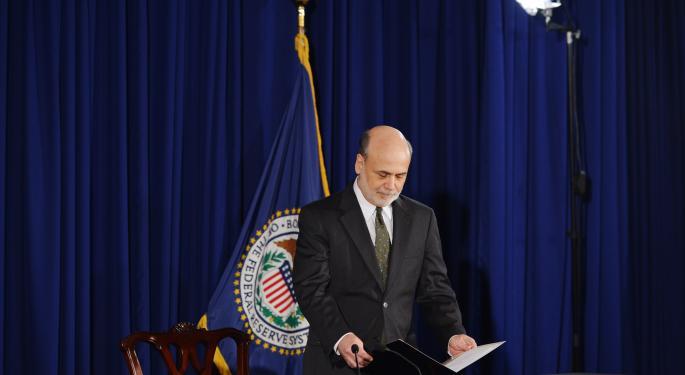 WSJ's Hilsenrath Says Economic Riddles Could Reshape Fed's Bond-Buying Exit