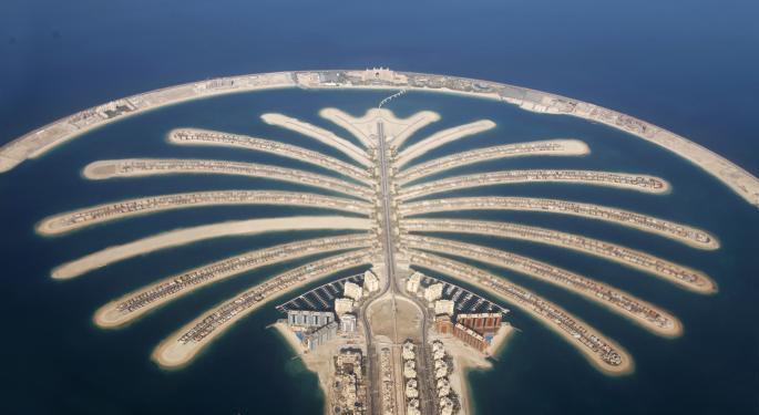 UAE Poised For Plunge As Dubai Stock Exchange Crashes Into Bear Territory