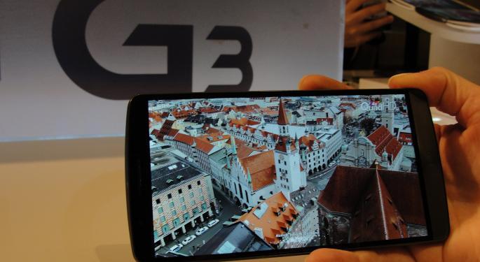 LG's New G3 Won't Hit U.S. Until At Least July