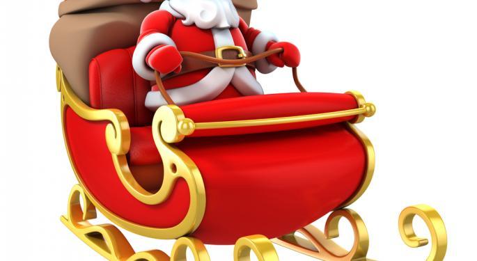 Santa's Sleigh Kicks Into Overdrive