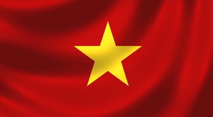 Vietnam ETF Gets a Lift on Interest Rate Talk