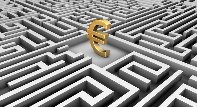 Euro Has A Rough Road Ahead