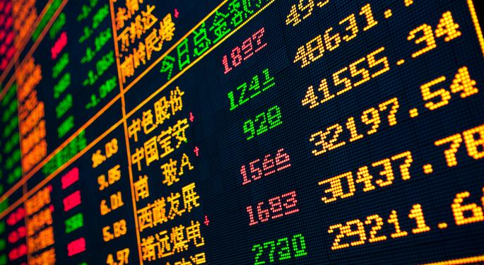Mid-Morning Market Update: Markets Open Higher; Constellation Brands Profit Beats Street View