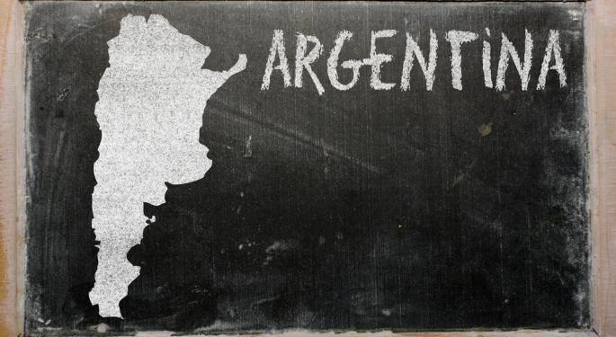 Despite Default Fears, Argentina ETF Soars