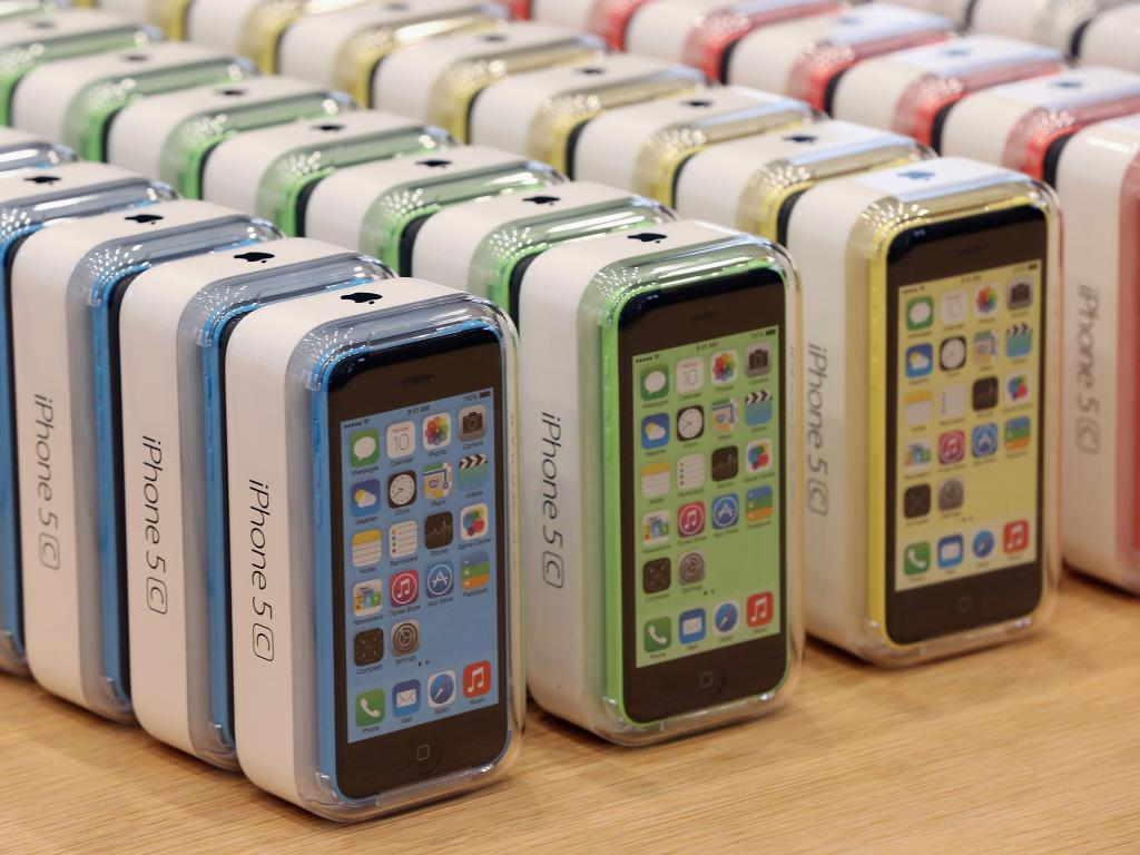 how to set up thumbprint on iphone 5c