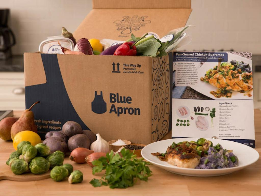 Blue Apron Surges in Premarket on Goldman's $11 Target