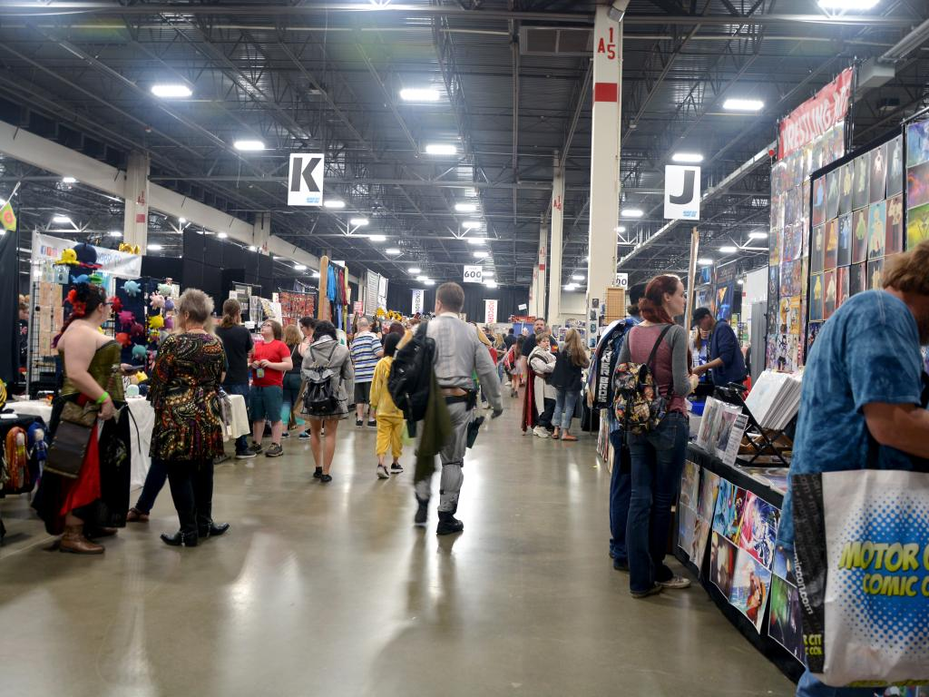 The 5 coolest things we saw at the 2018 motor city comic for Motor city comic con