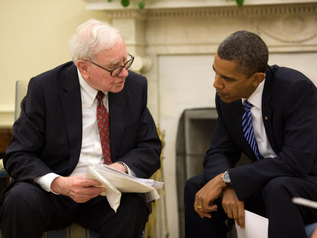 Warren Buffett's advice to investors: Stick with stocks