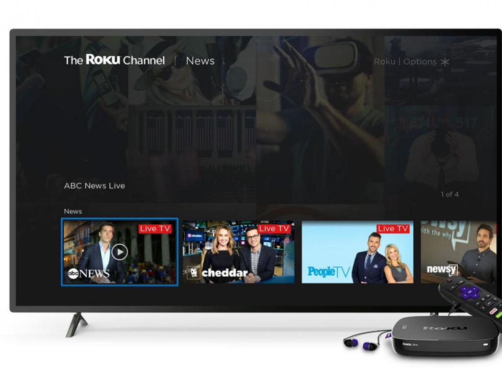 Roku Inc Posts Better-Than-Expected Q1 Loss, Shares Pop