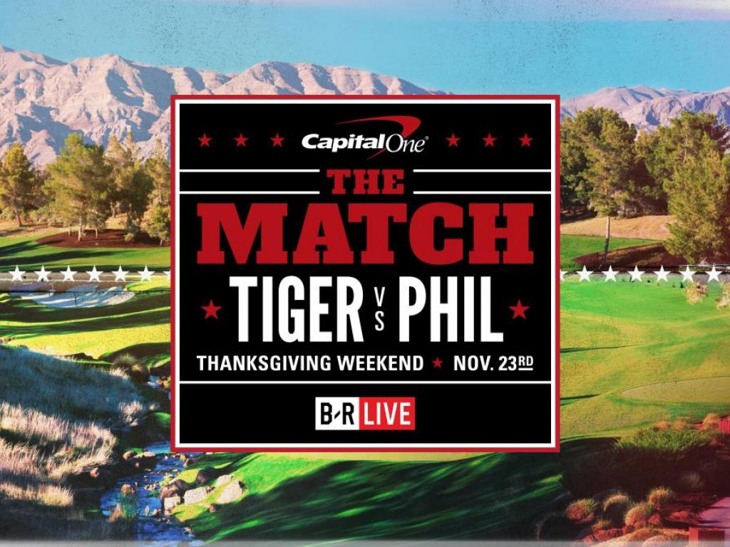 Phil Mickelson Loses $200K Putt In 'The Match'; Watch Tiger Woods' Reaction