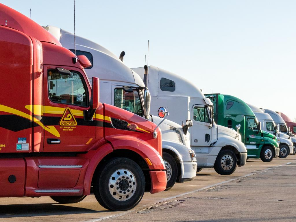 Truck Parking Europe Is Helping Truckers Book Secure Parking Spots