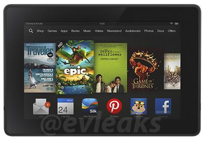 Amazon's Next Kindle Fire Could Be A Rehash