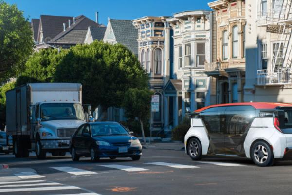 GM-Backed Cruise's Self-Driving Robo-Taxi Revealed