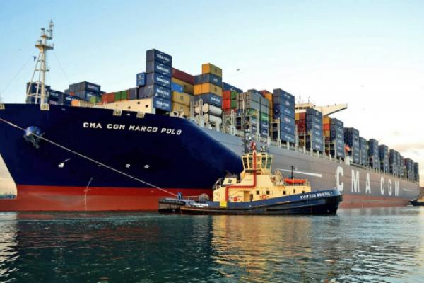 CMA CGM Marco Polo Crew Member Tested For COVID-19