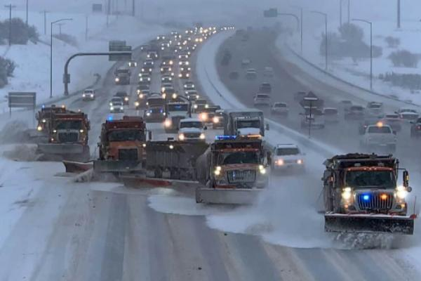 Snowstorm Heading To Rockies, Midwest Freight Markets This Weekend (With Forecast Video)