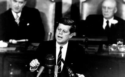 Announcing the Apollo program, 25 May 1961