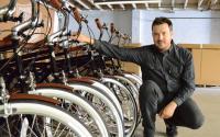 Detroit Bikes President Zak Pashak, 36, at the company's manufacturing facility,