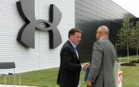 Photo credit: Maryland GovPics - Under Armour Opening, via Wikimedia Commons