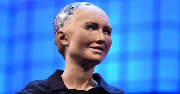 Why Should Humans Have All The Fun? Sophia The Robot Is Selling Her Art As NFT