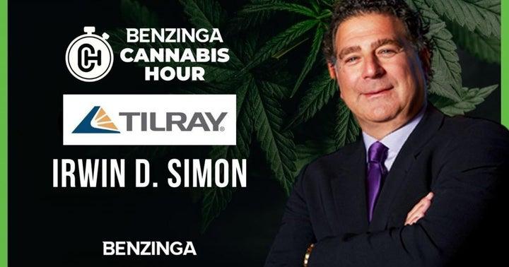 EXCLUSIVE: Tilray CEO Irwin Simon Discusses Earnings Report, Stock Surge On Benzinga Cannabis Hour