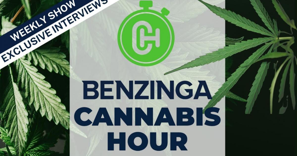 This Week On Benzinga Cannabis Hour: Entourage Effect's Matt Hawkins, Cannaphyll CEO Jude Bond, Leah Thomas of The Greens Girl