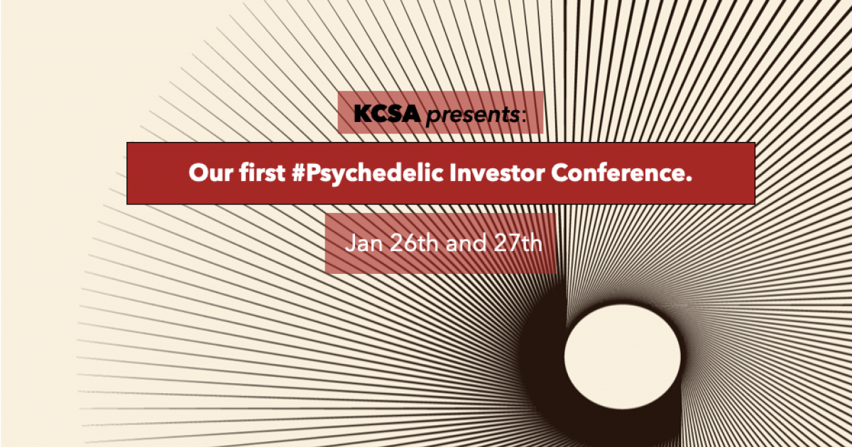 KCSA 2021 Psychedelics Investor Conference: What You Need To Know