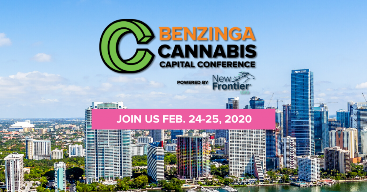 Benzinga Heads To Miami For The First Cannabis Capital Conference Of 2020