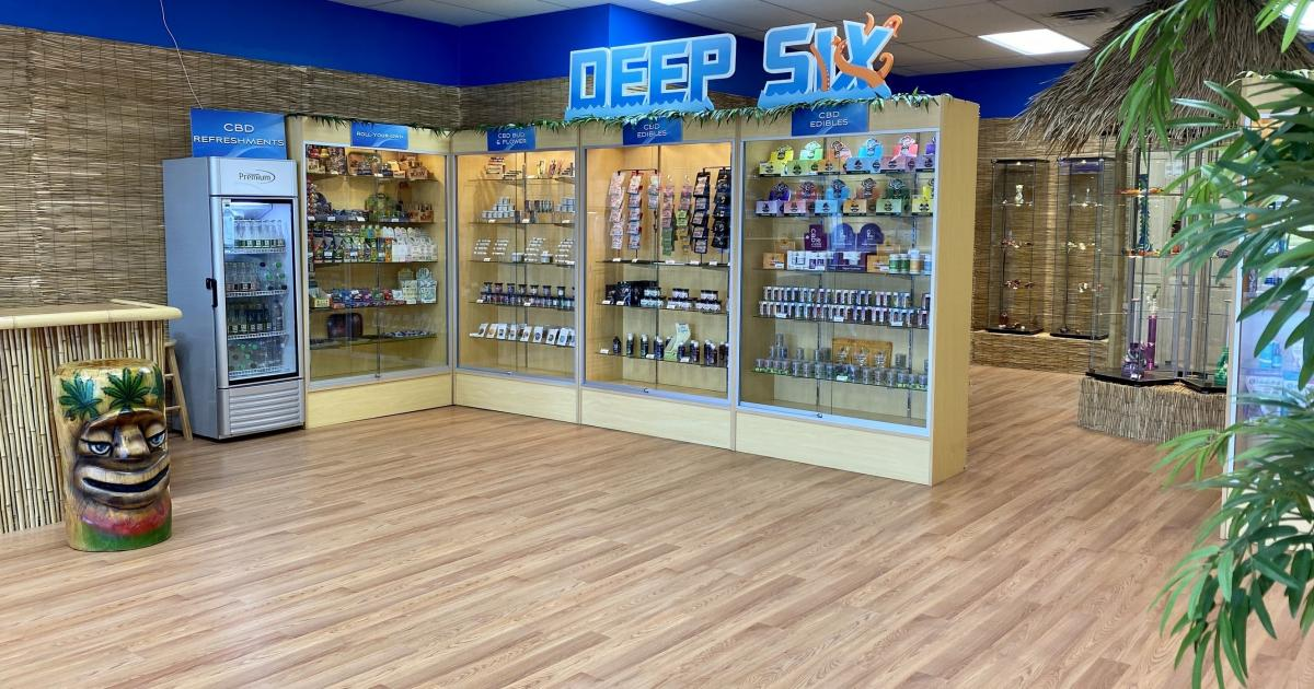 Deeps Six Presents Delta 8 THC Infused Products In Scranton, PA