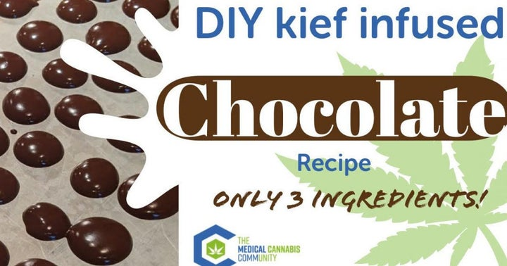 Easy Chocolate Cannabis Buttons Recipe