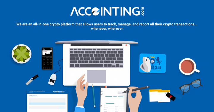 Leading Crypto Tax Platform ACCOINTING.com Looks To Redefine Portfolio Tracking Among Crypto Traders