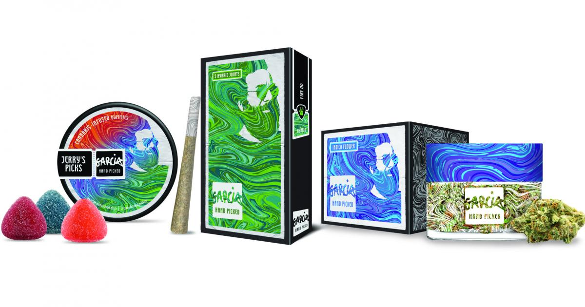 Jerry Garcia Cannabis Brand To Hit California Shelves This Month