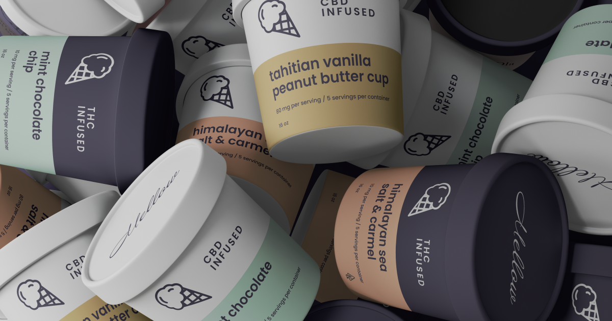 Mellow: The New THC-And-CBD-Infused Ice Cream You Have To Try