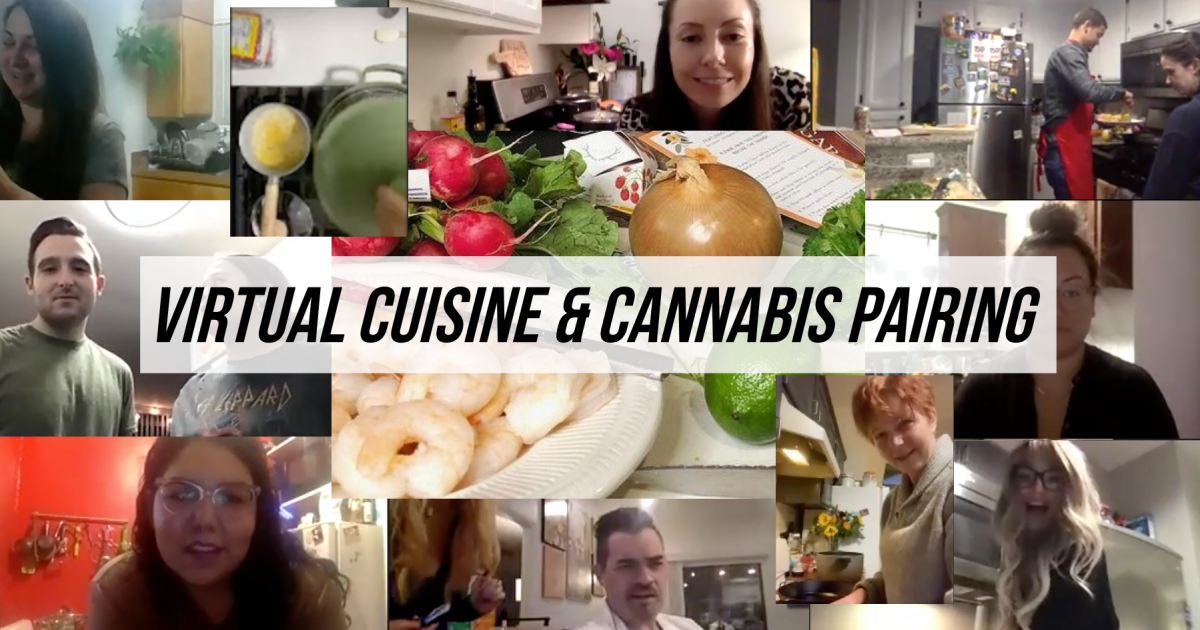 Virtual Cannabis Dinner Pairings Offer An Alternative To Heavy Alcohol Consumption During The Pandemic