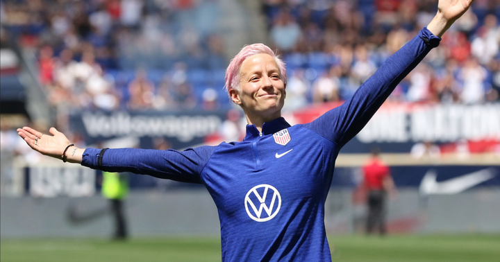 US Soccer Superstar Megan Rapinoe Talks Cannabis, Feminism: 'Everyone Needs To Have A Seat At The Table'