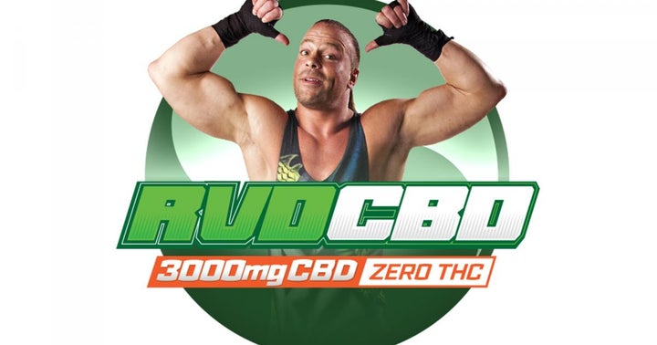 WWE, ECW Legend Rob Van Dam CBD Products Now Available Online