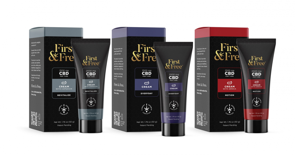 First & Free Releases CBD Line For National Stress Awareness Day