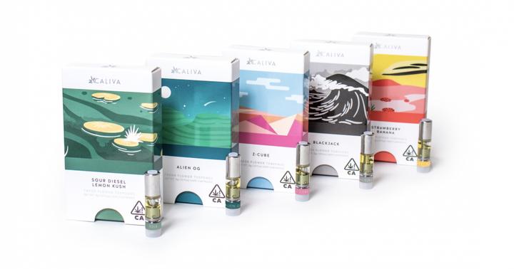 New Cannabis Products: Caliva's Fresh Flower Vape, CBD Creams, Beverage Mixers