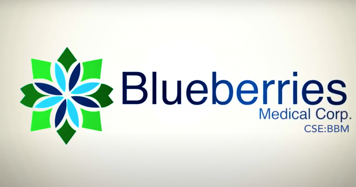 Blueberries Medical Scores CA$1M In Financing, Confirms Leadership Changes