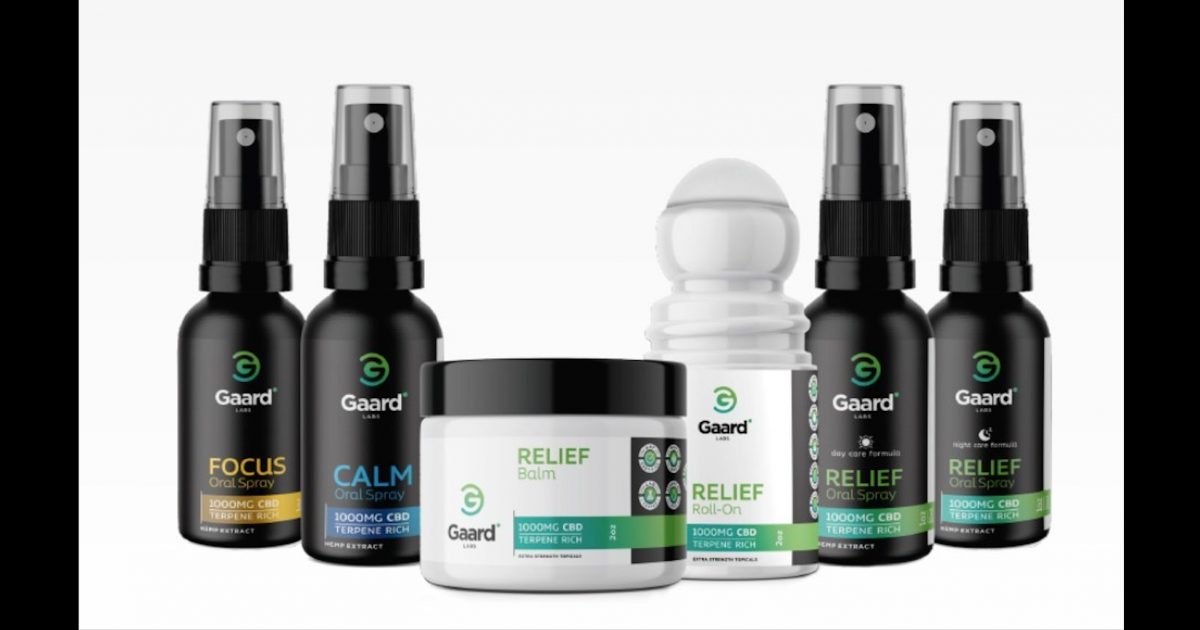 Gaard Labs Launches Several Lines Of CBD Products In The Big Apple