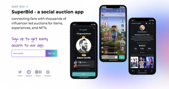 The New SuperBid Auctioning App Will Revolutionize Fan Engagement