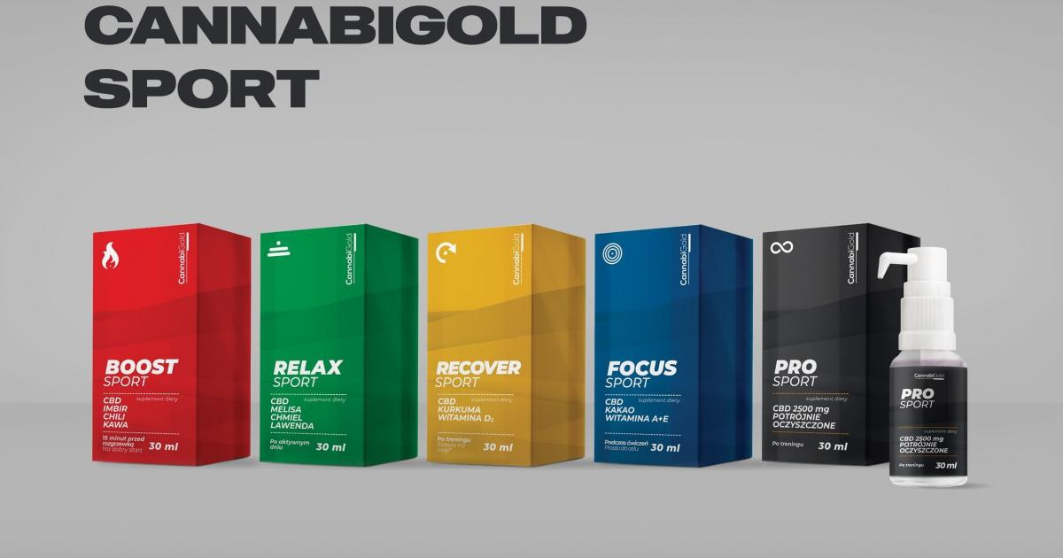 HemPoland Launches CannabiGold Sport Line Of CBD Supplements For Athletes