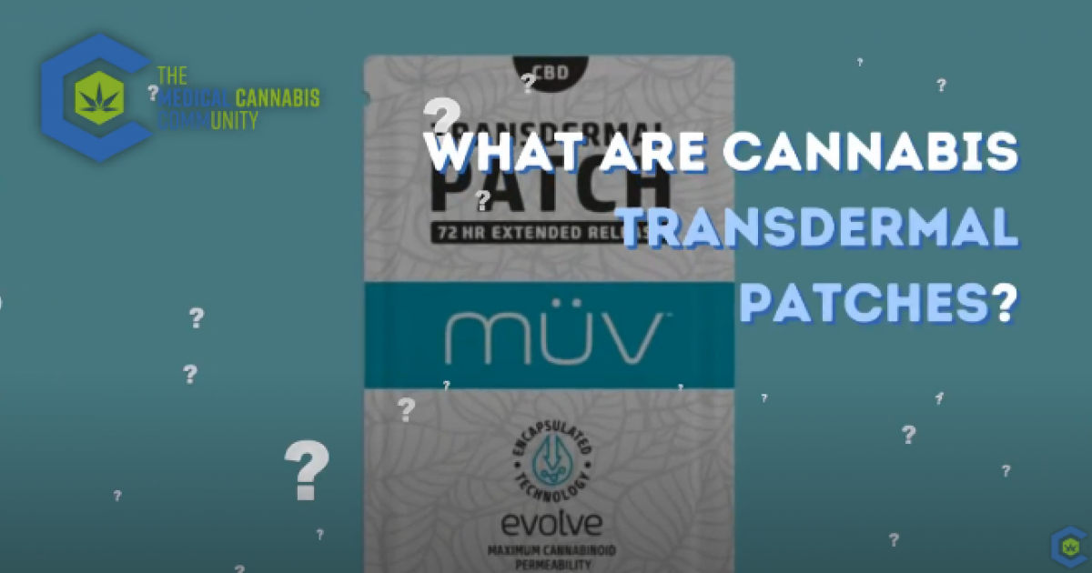 Video: What Are Cannabis Transdermal Patches?