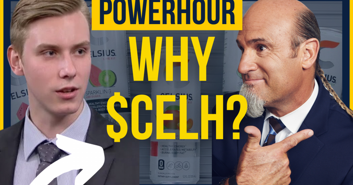 Exclusive: Pete Najarian Talks Celsius Holdings Products On 'Power Hour'