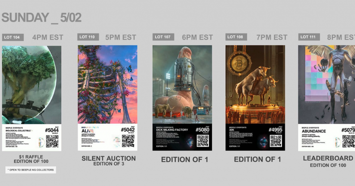 Beeple's Last NFT Sold For $69 Million. Now You Could Get Your Hands on His Newest NFT Collection For $1.