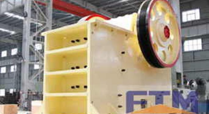 Solutions to the temperature rise of the jaw crusher