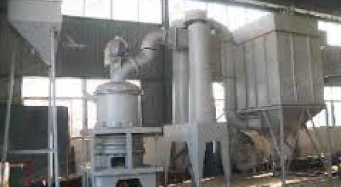 new environmental pollution  Raymond mill