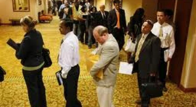 First Time Jobless Claims Jump By 19,000