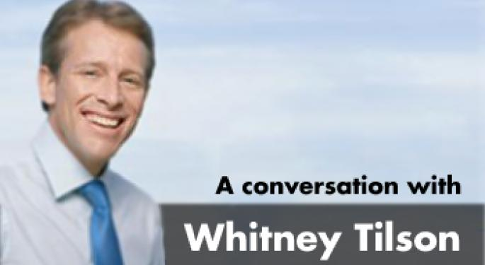 Searching for Value in the Stock Market  - Part 1 - Interview with Whitney Tilson, Co-founder and Chairman of Value Investing Congress