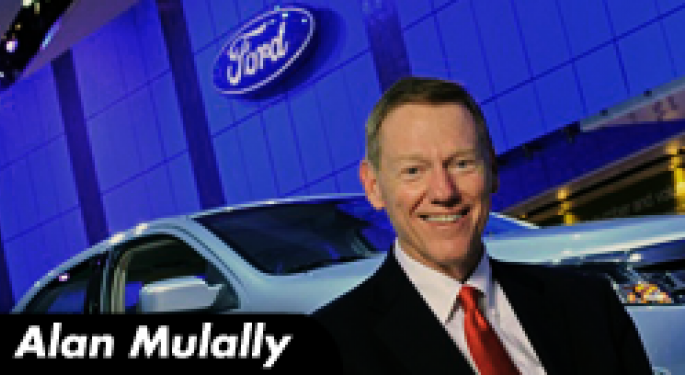 Benzinga Exclusive - Interview with Ford CEO Alan Mulally: Ford Has a Car for Everyone